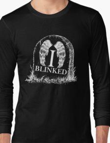 Doctor Who I Blinked Gravestone Long Sleeve T-Shirt