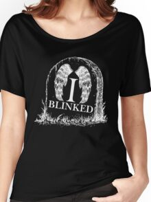 Doctor Who I Blinked Gravestone Women's Relaxed Fit T-Shirt