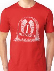 Doctor Who I Blinked Gravestone Unisex T-Shirt