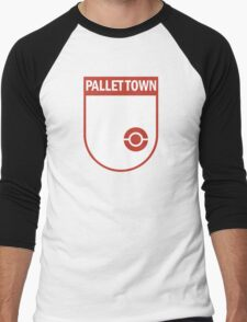 Pallet Town Soccer Club Men's Baseball ¾ T-Shirt