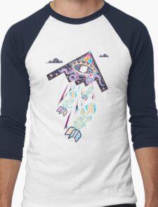 Drop Acid Not Bombs Men's Baseball ¾ T-Shirt
