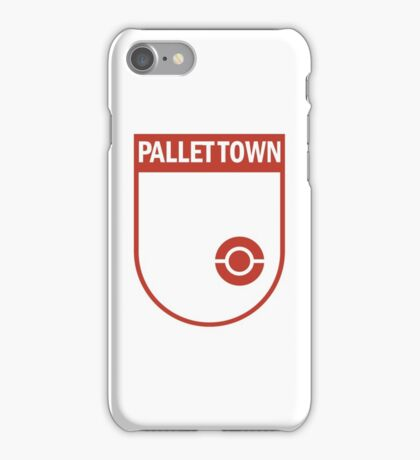 Pallet Town Soccer Club iPhone Case/Skin