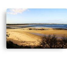 Sand Bar - Barwon Heads Bluff Victoria Australia Canvas Print