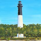 Hunting Island Lighthouse Hunting Island State Park Beaufort, SC A013  by Matthew Campbell