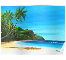 Carombola Beach St. Croix USVI A011 Poster