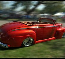 1948 Ford Convertible Custom Low Rider by TeeMack
