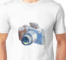 Camera DSLR Low Polygon Unisex T-Shirt