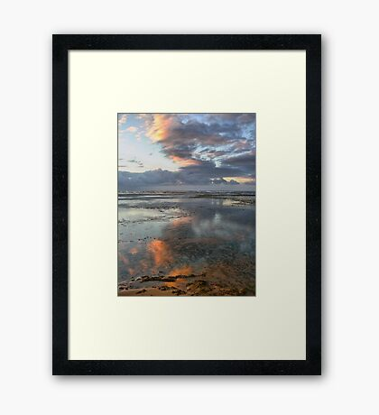 Reflections in HDR /// The Love of My Life.. Framed Print