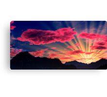 Northlands Sunset Canvas Print