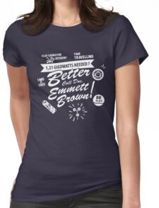 Better call Doc. Womens Fitted T-Shirt