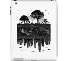 Timeline of Earth and the opposites iPad Case/Skin