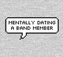 Mentally Dating A Band Member by deathspell