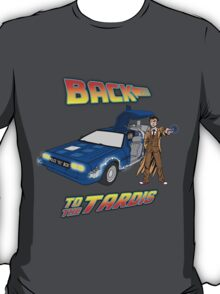 Back to the Tardis Doctor Who T-Shirt