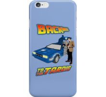 Back to the Tardis Matt Smith iPhone Case/Skin