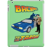 Back to the Tardis Matt Smith iPad Case/Skin