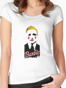 Klaus Barbie Doll Women's Fitted Scoop T-Shirt