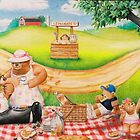 """A Picnic With the Bear Family"" by James McCarthy"