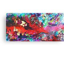 Beneath the Red Sea Canvas Print