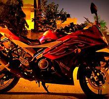 YAMAHA YZF R15 Super street Motorcycle by sabhinav61