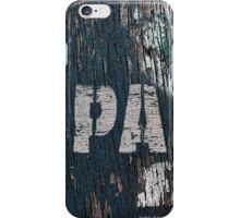 PA iPhone Case/Skin