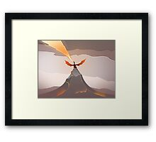 Smaug The Golden  Framed Print