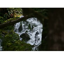 the water falls Photographic Print
