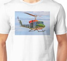 Bell 212EP AH.1 ZK206/A Hovering       Unisex T-Shirt