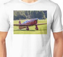 Percival Mew Gull replica G-HEKL taxies in Unisex T-Shirt