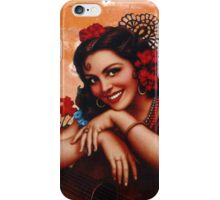 Bullet holes Mexican style iPhone Case/Skin