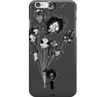 burton's balloons iPhone Case/Skin