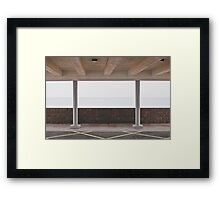Modernist Sea View Framed Print