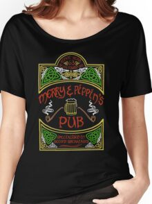Merry & Pippin's Pub Women's Relaxed Fit T-Shirt
