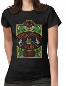 Merry & Pippin's Pub Womens Fitted T-Shirt