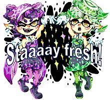Callie and Marie by megtalgearsalad