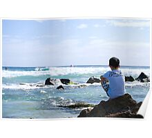 """Pro surfer """"Dreaming"""". Poster"""