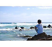 """Pro surfer """"Dreaming"""". Photographic Print"""