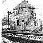 """Kingston Block Tower"" - Pen & Ink Portfolio by Jack McCabe"