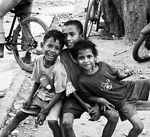 Timorese Smiles  by Amanda  Stewart