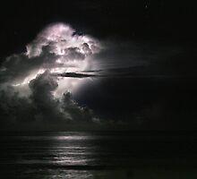 Cloud Lighting - St. Croix by Bob Webb