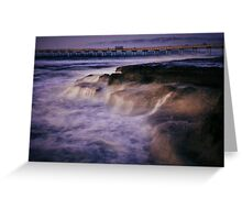 Sea Shore Greeting Card
