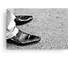 Shoe Shine Canvas Print