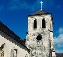 St. Francis Xavier Cathedral, Nassau, Bahamas by Ann Marie Donahue