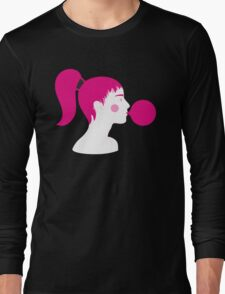 Bubblegum Pop Up Long Sleeve T-Shirt