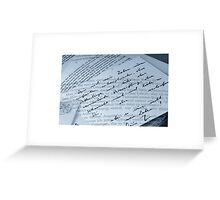 Dialogue d'Amour Greeting Card