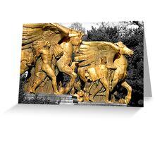 Washington DC Statues Greeting Card