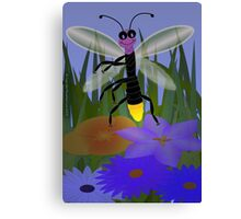 Dancing Firefly Canvas Print