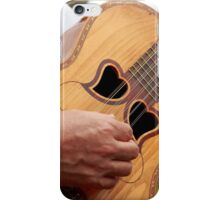 Typical Azores guitar iPhone Case/Skin