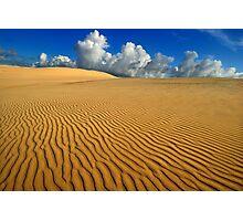 Barren plains Photographic Print