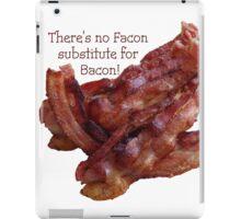 No Facon Bacon! iPad Case/Skin