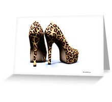 Take a walk on the wild side.. Greeting Card